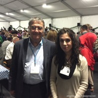 With Serge Haroche (Nobel Laureate, Physics, 2012)
